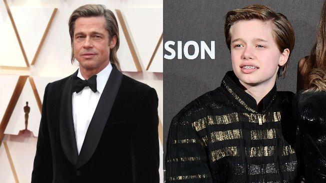 Brad Pitt orgoglioso della sua Shiloh: