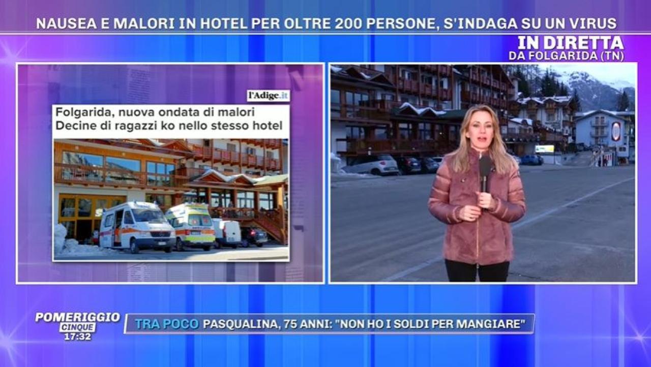 Folgarida, nuova ondata di malori in albergo Decine di