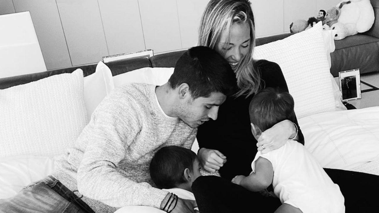 """Alice Campello e Alvaro Morata aspettano il terzo figlio: """"Presto ..."""