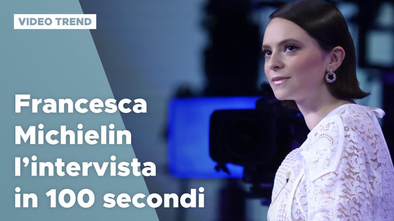 Francesca Michielin, l'intervista in 100 secondi ...