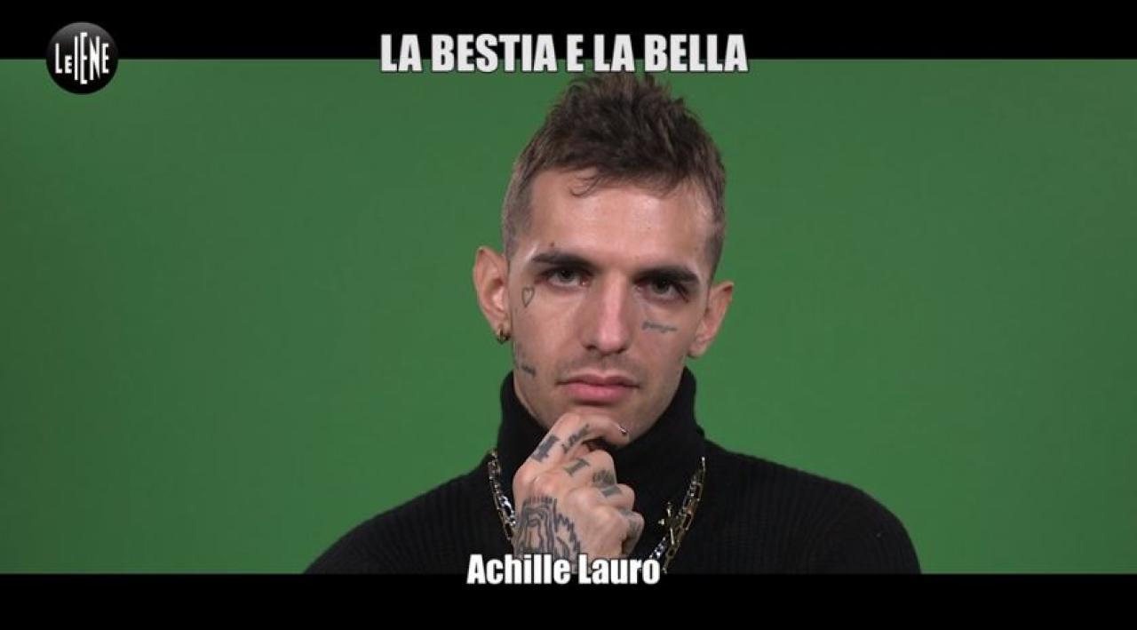 Achille Lauro in concerto a Latina
