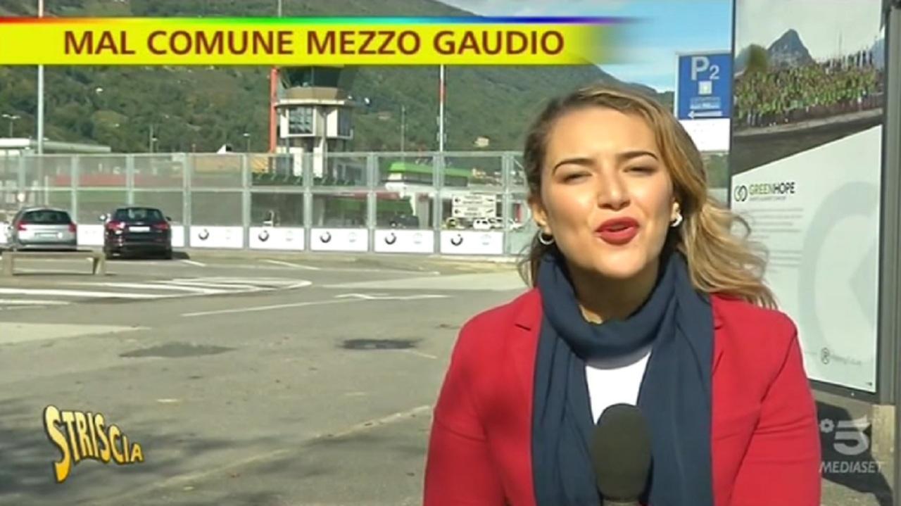 Aeroporto Senza Voli Di Linea Lo Strano Caso Di Lugano Striscia La Notizia Mediaset Play