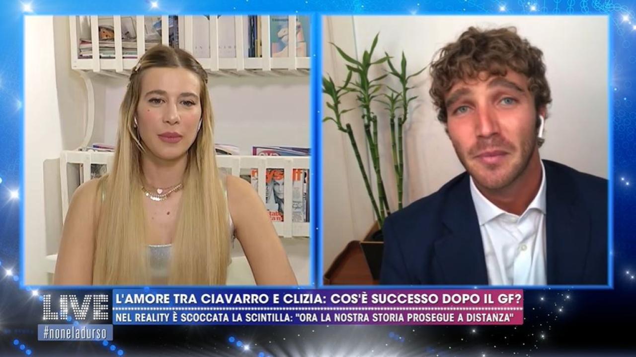 """L'amore di Clizia Incorvaia per Paolo Ciavarro: """"Il mio cuore ha ..."""