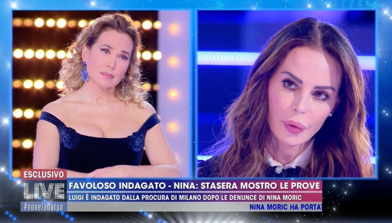 """Nina Moric sulla telefonata con Elena Morali: """"È sotto ricatto ..."""