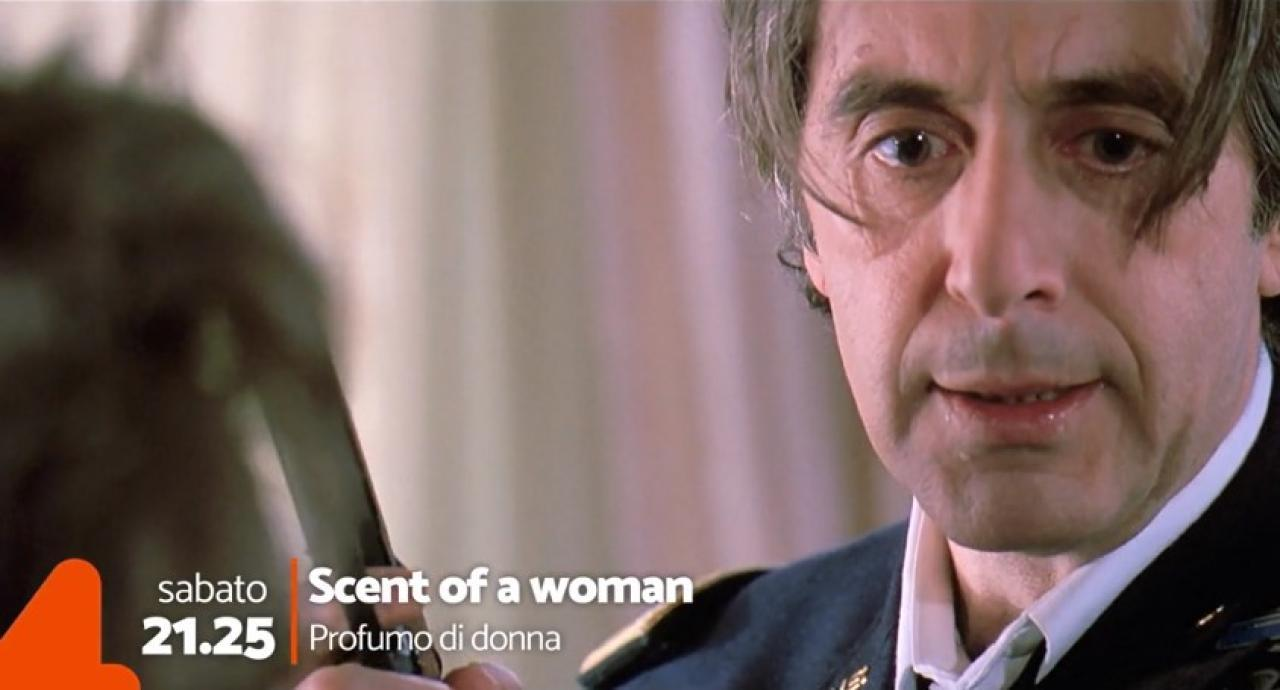 Scent of a woman in streaming - Promo