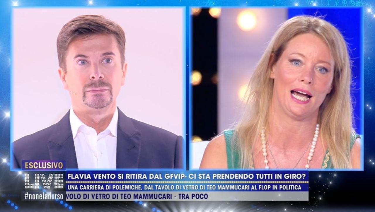 Flavia Vento Contro Riccardo Signoretti Non Ho Lasciato La Casa Per Live Non E La D Urso Mediaset Play