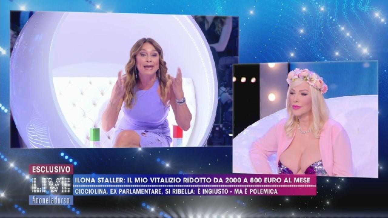 Cicciolina querela Rocco Siffredi